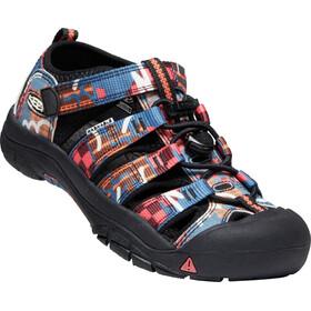 Keen Newport H2 Sandalias Jóvenes, negro/Multicolor